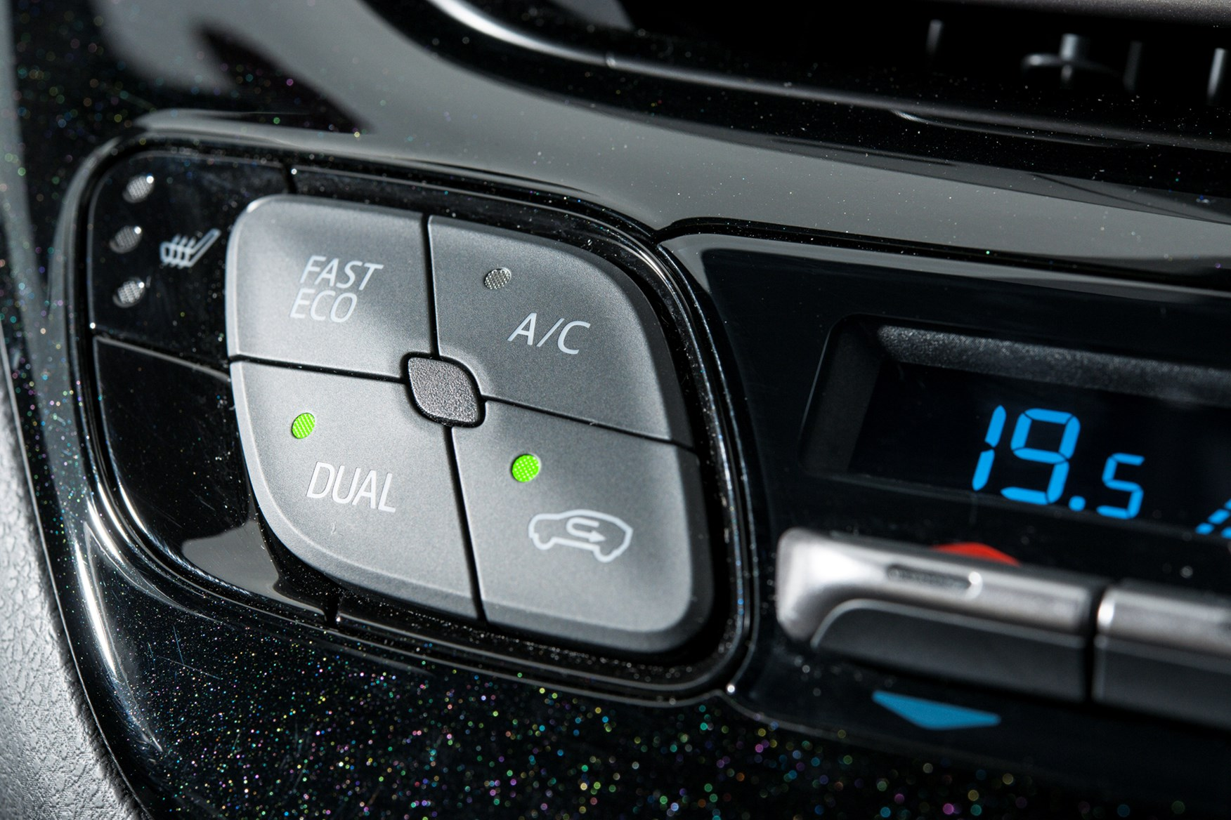Air-con needed switching off for most of the eco drive in our Toyota C-HR