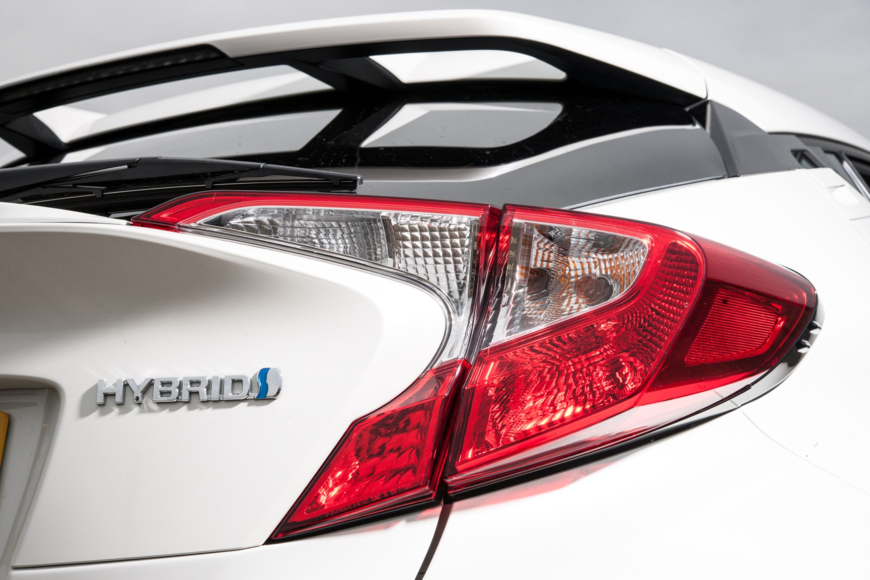 Pearl white paint is a £795 optional extra on the Toyota C-HR
