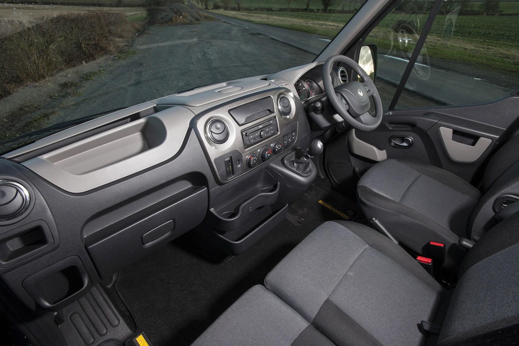 Renault Master Formula Edition review - cab interior
