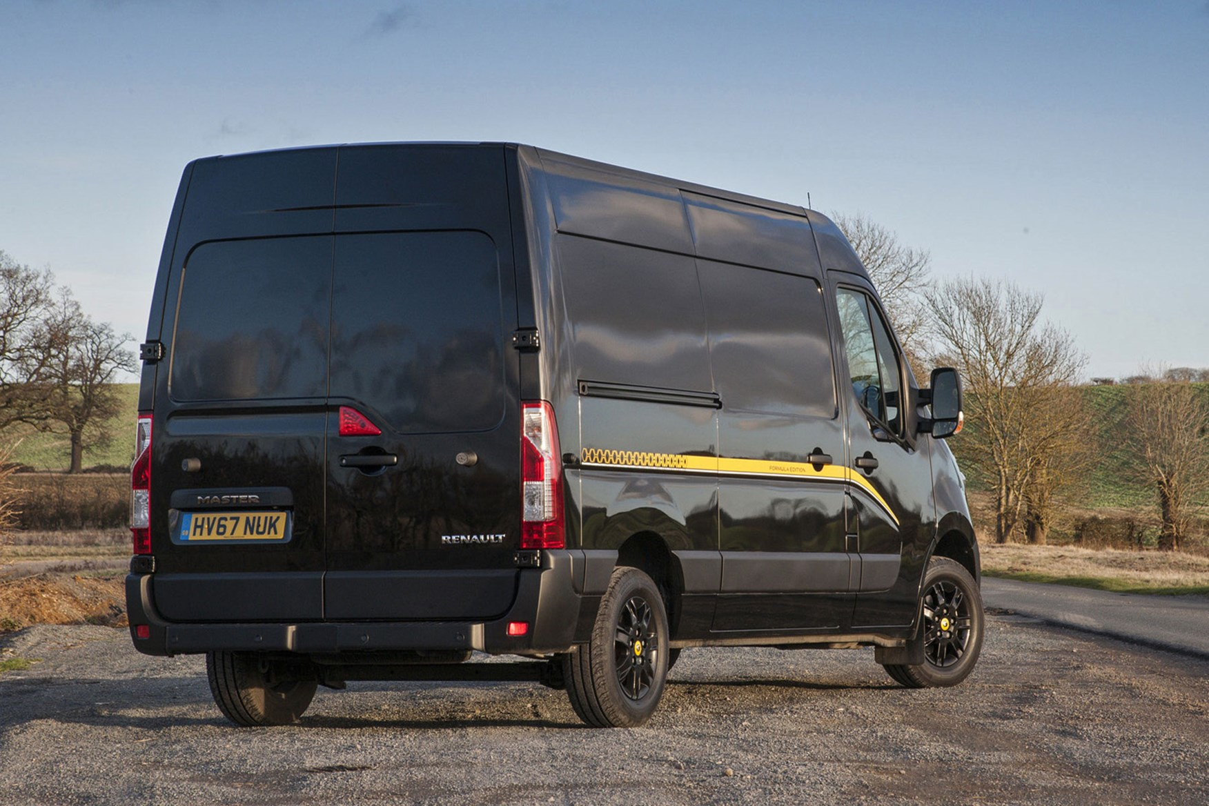 Renault Master Formula Edition review - rear sunset