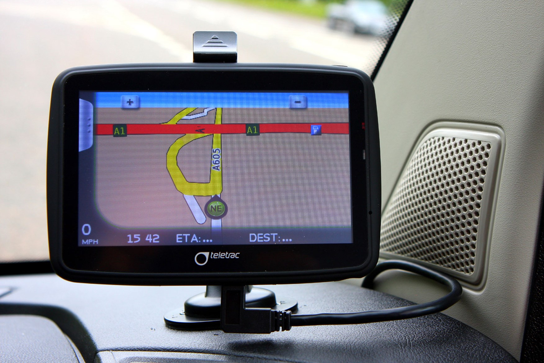Citroen Relay 2.2 HDi 130 review - Teletrac sat-nav