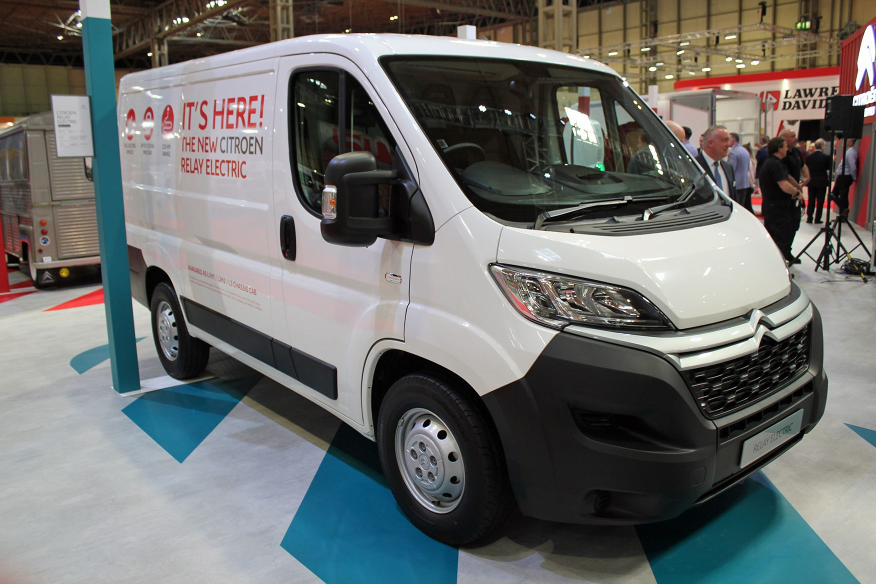 Citroen Relay Electric at the CV Show 2019