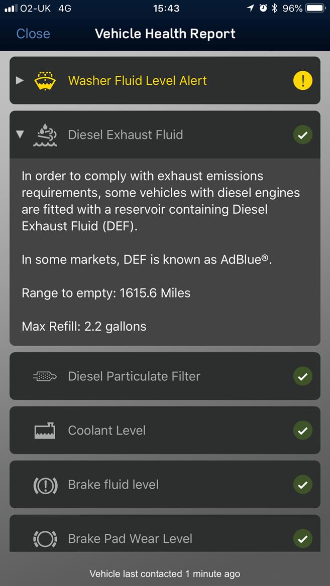 Range Rover AdBlue refill (2)
