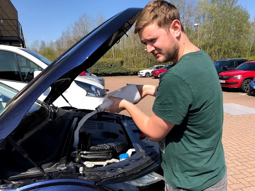 Range Rover AdBlue refill (1)
