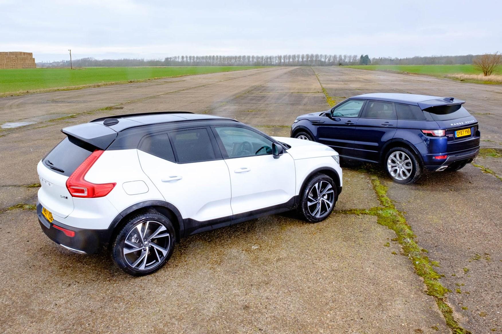 Range Rover vs Volvo XC40