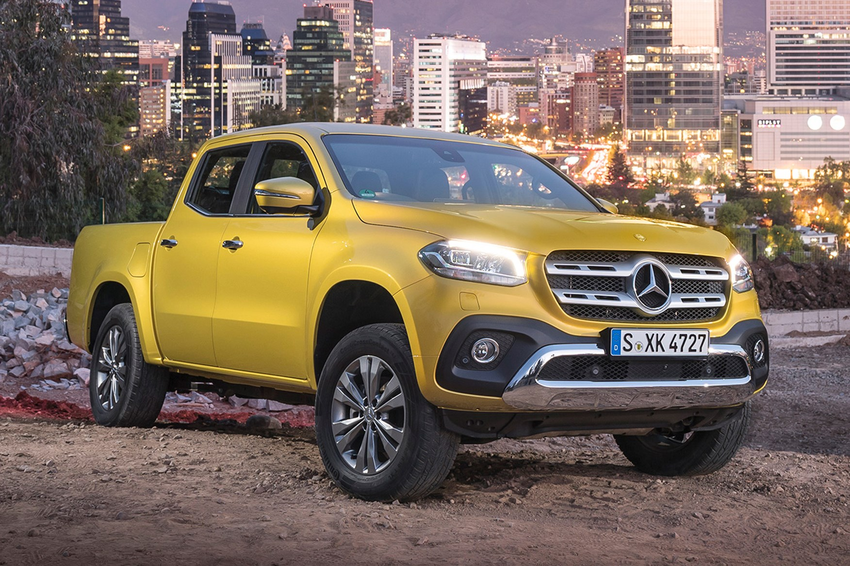 Mercedes-Benz X-Class full review on Parkers Vans - exterior
