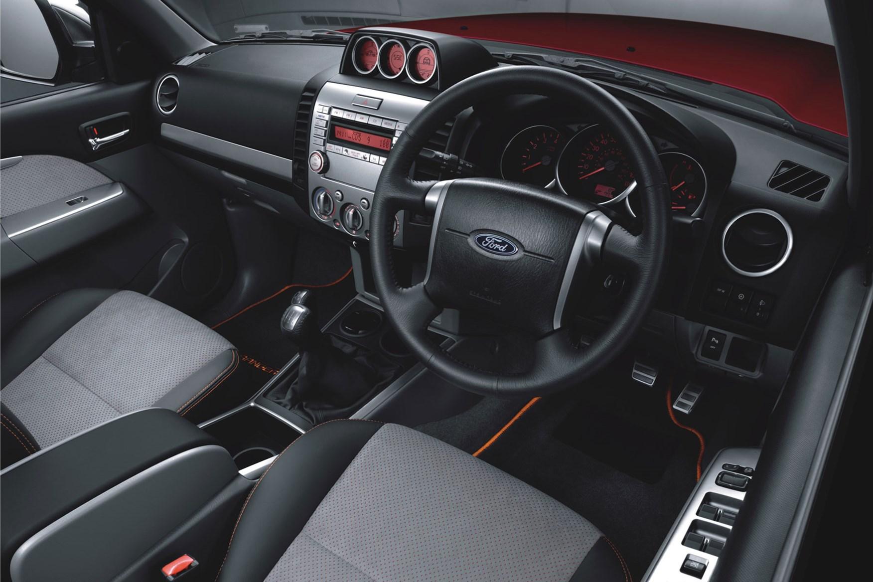 Ford Ranger (2006-2011) cab interior
