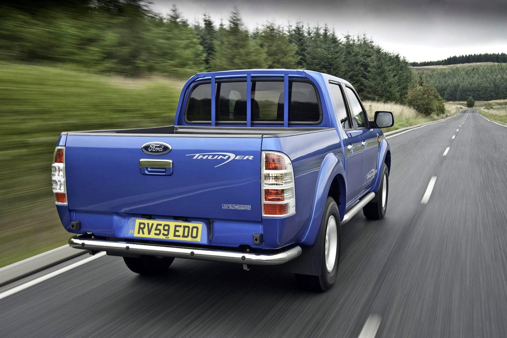 Ford Ranger (2006-2011) driving rear