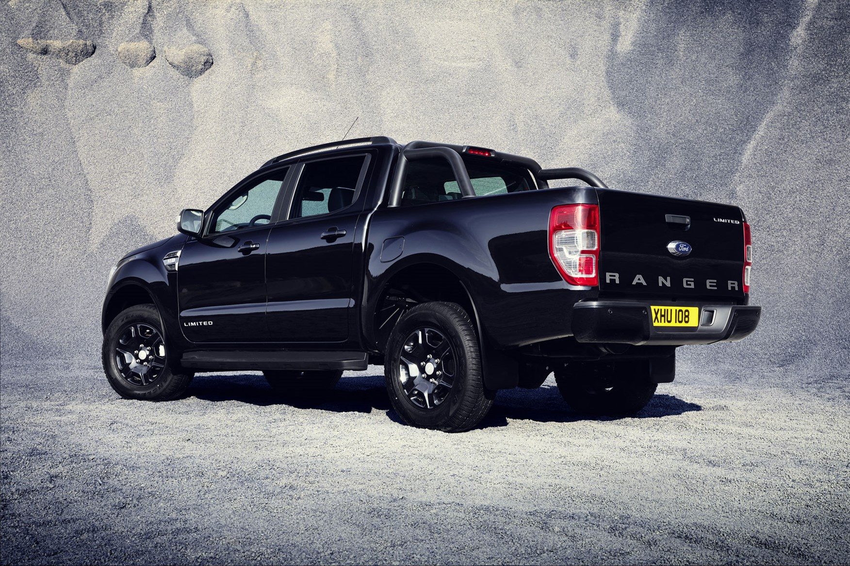 Ford ranger black edition review rear view