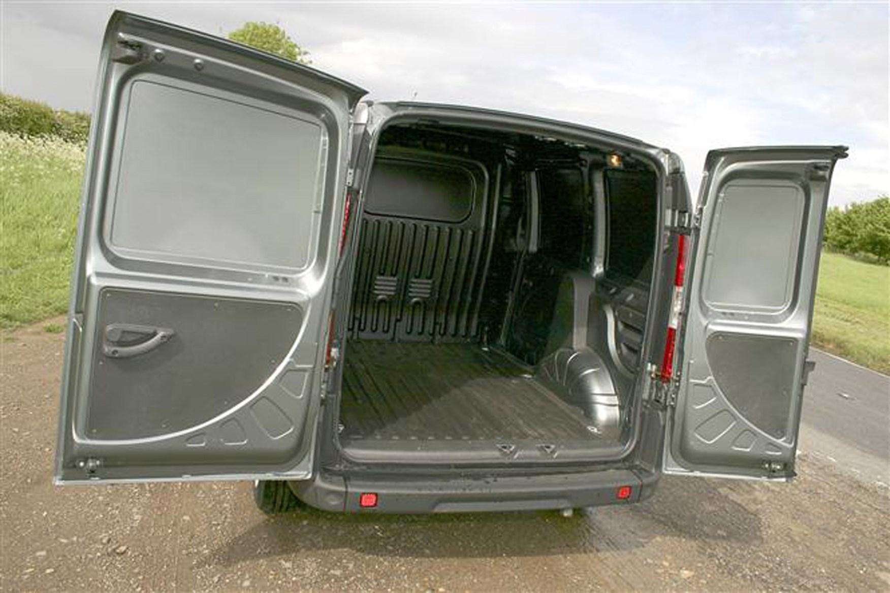 Fiat Doblo Cargo Van Dimensions 2001 2010 Capacity Payload