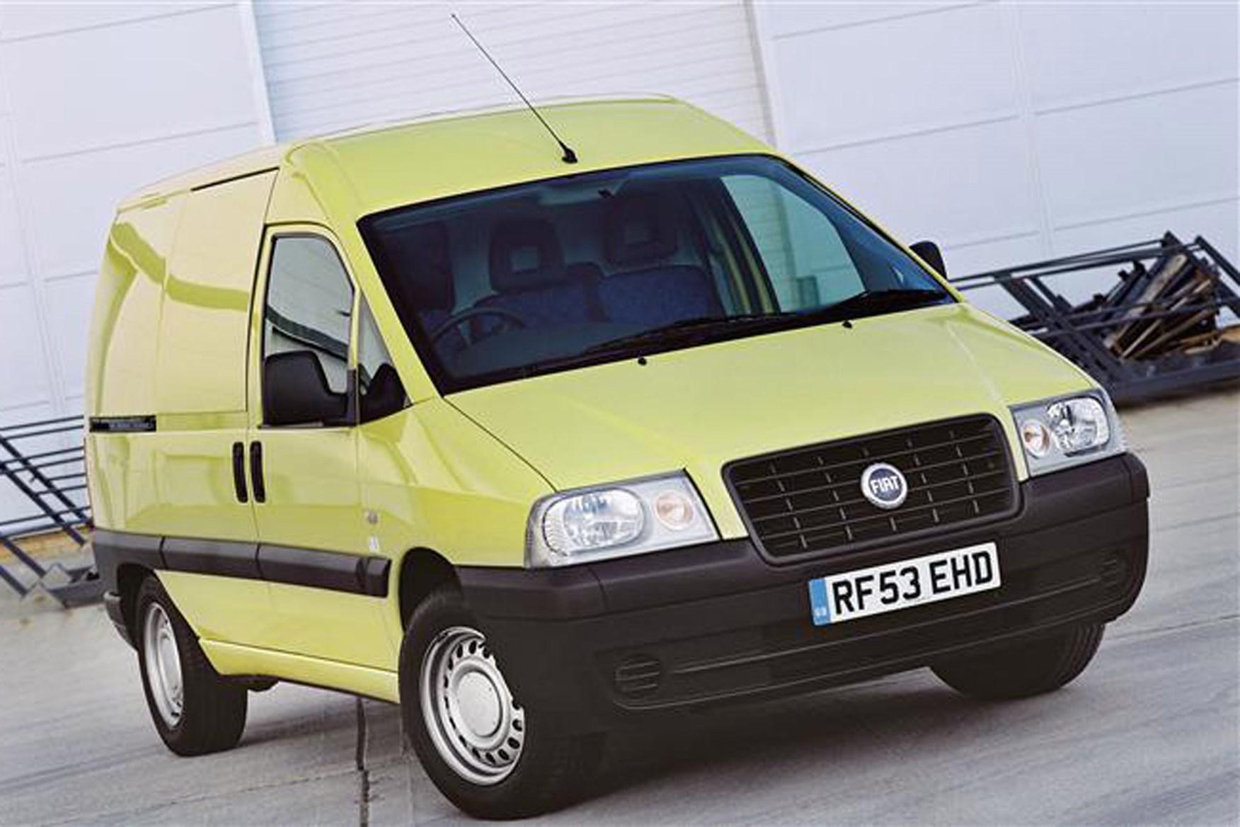 Fiat Scudo review on Parkers Vans exterior