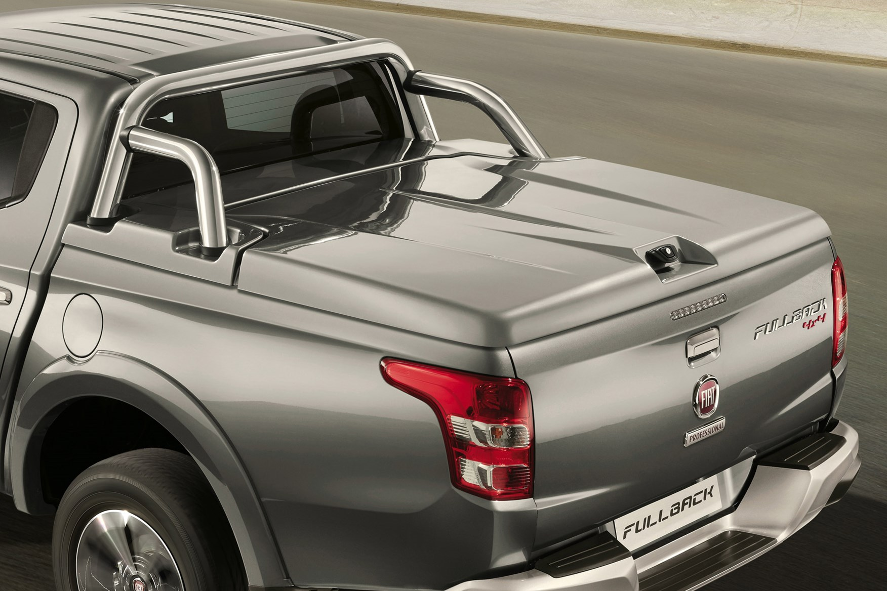 Fiat Fullback full review on Parkers Vans - load area cover