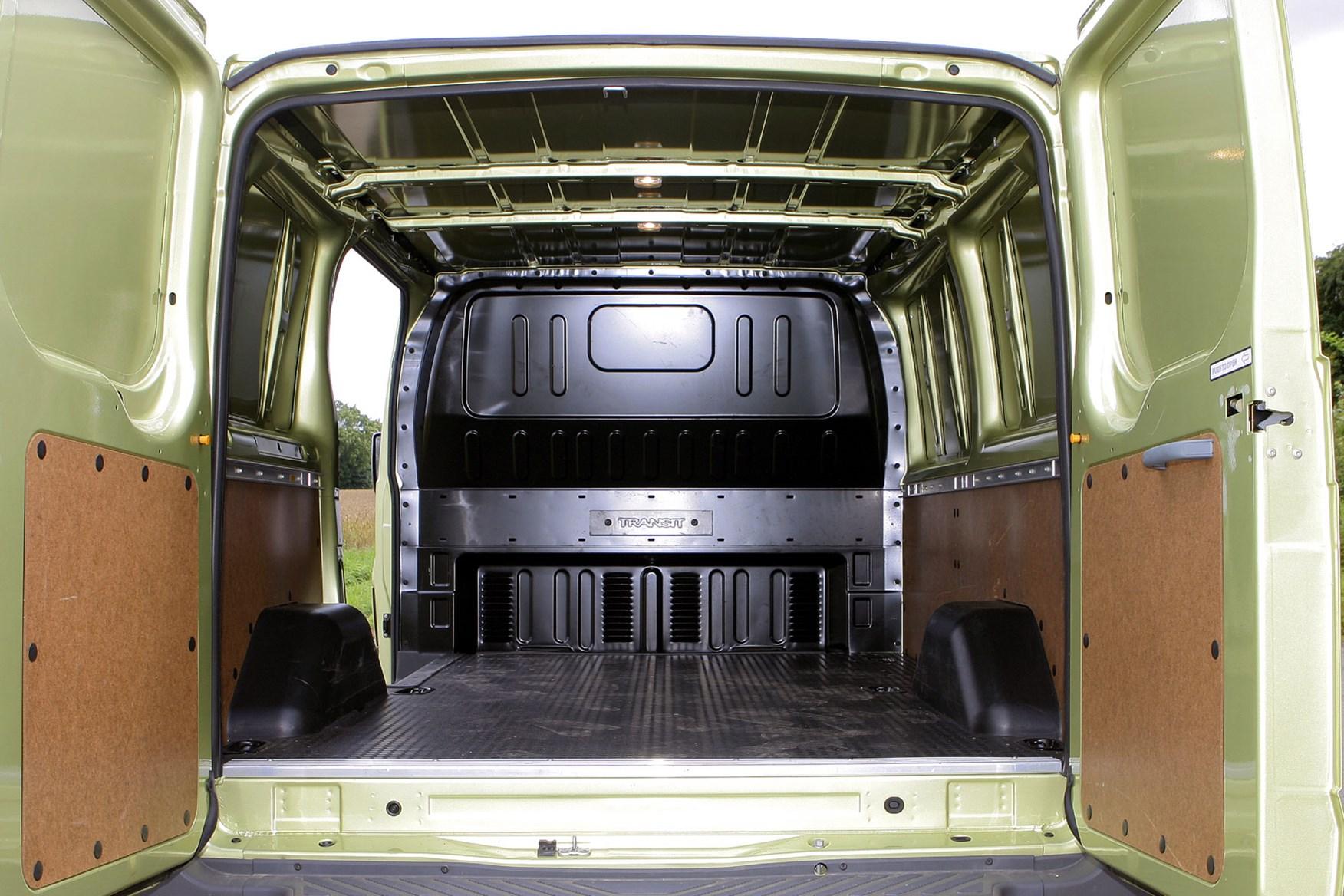 Ford Transit (2006-2014) load capacity