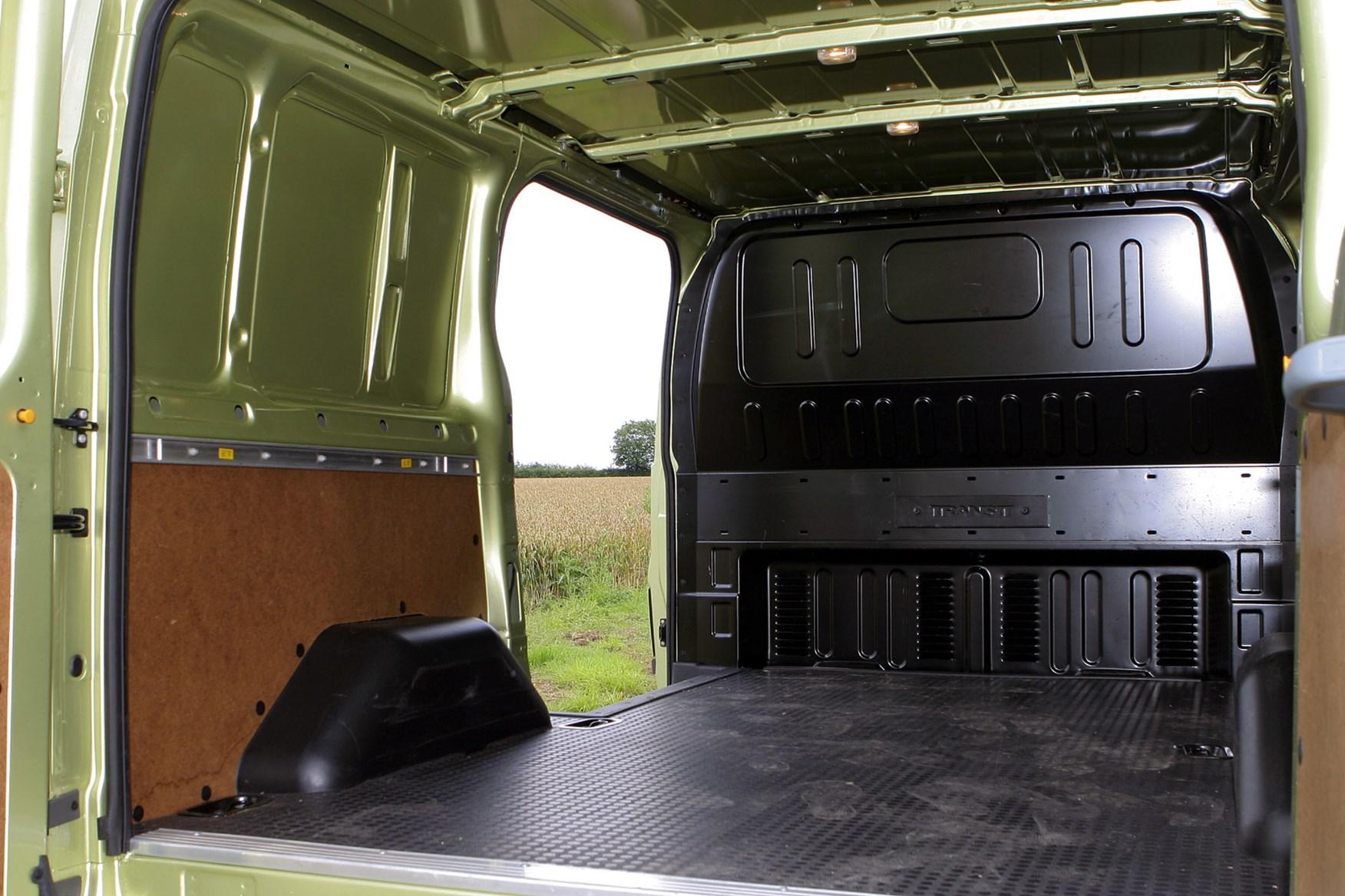 Ford Transit van dimensions (2006-2013), capacity, payload, volume