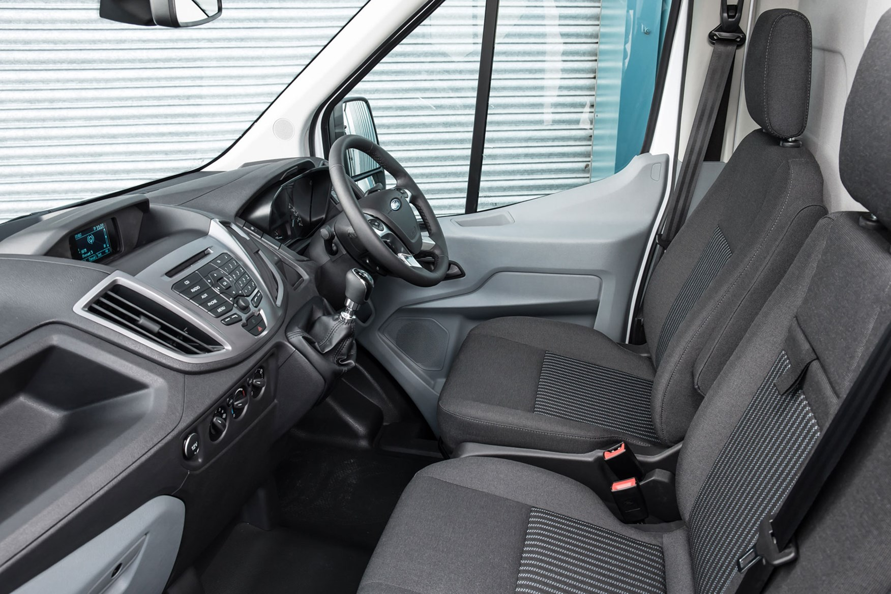 Ford Transit RWD Trend review - cab interior