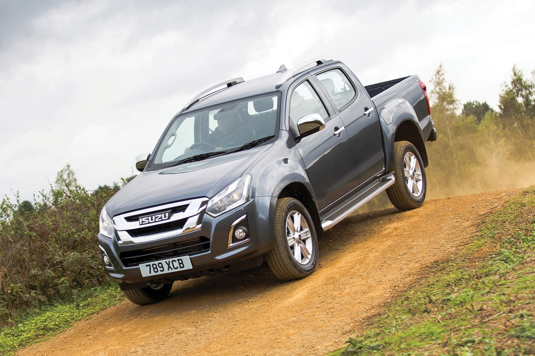 Isuzu D-Max full review on Parkers Vans - oaff-road capability