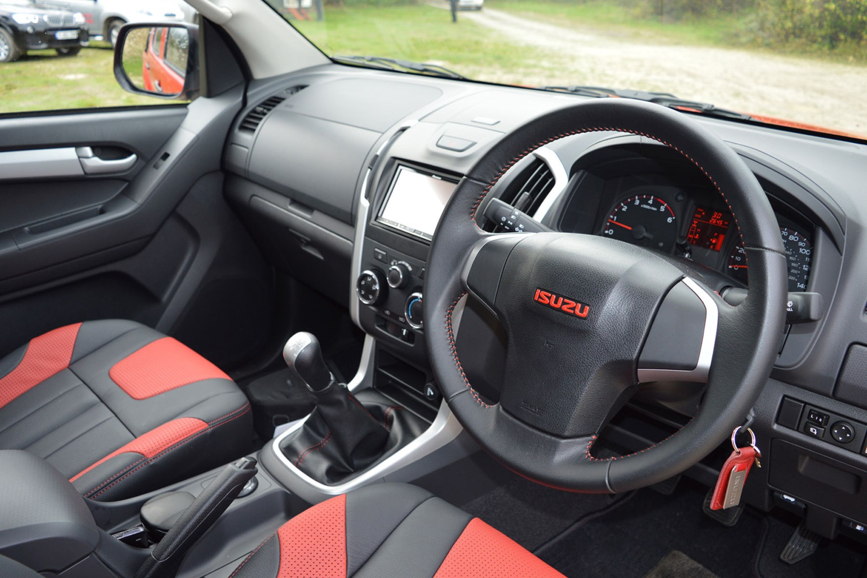Isuzu D-Max Fury 2.5 review - cab interior with optional leather seats