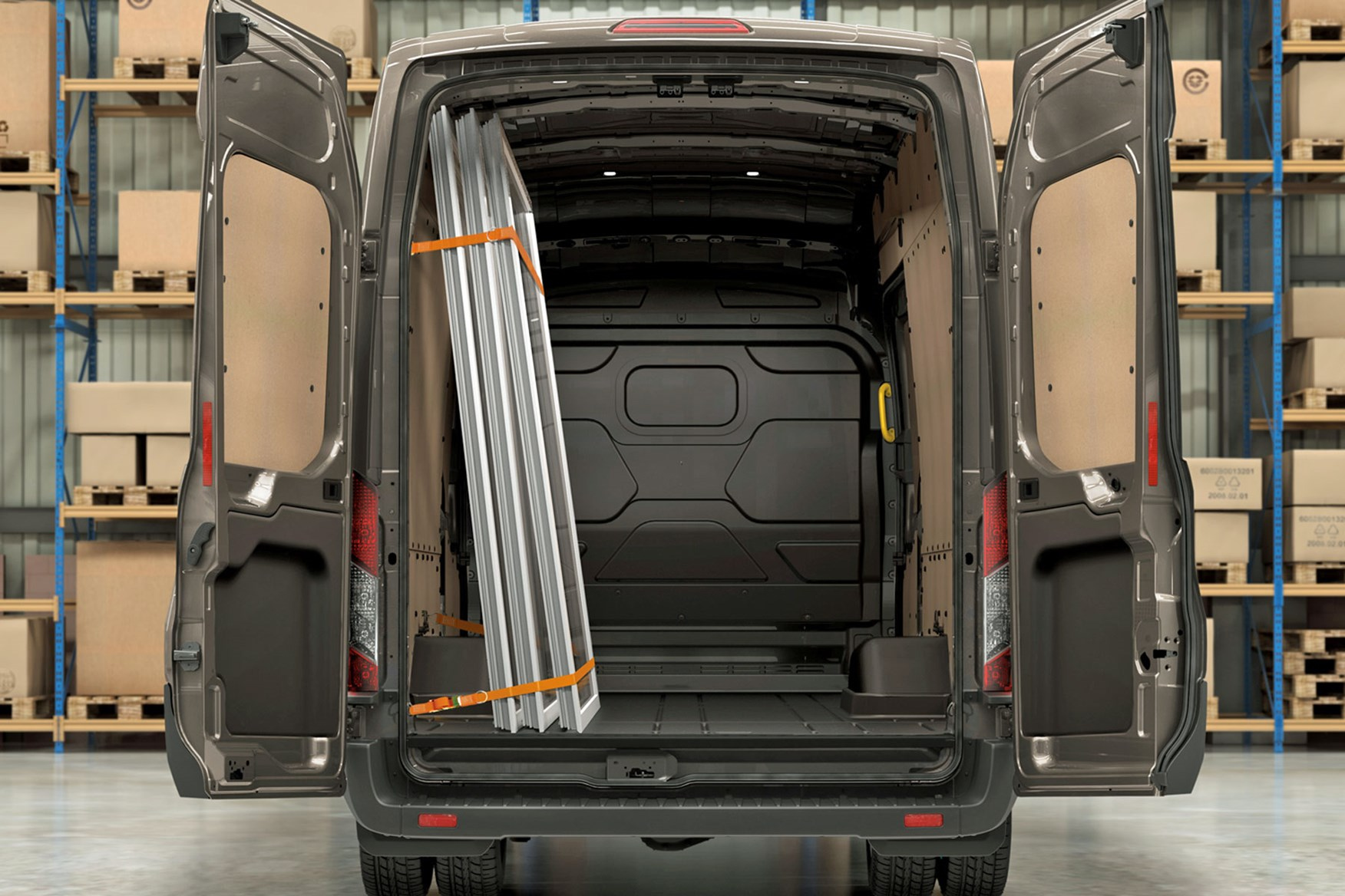 Ford Transit load area dimensions