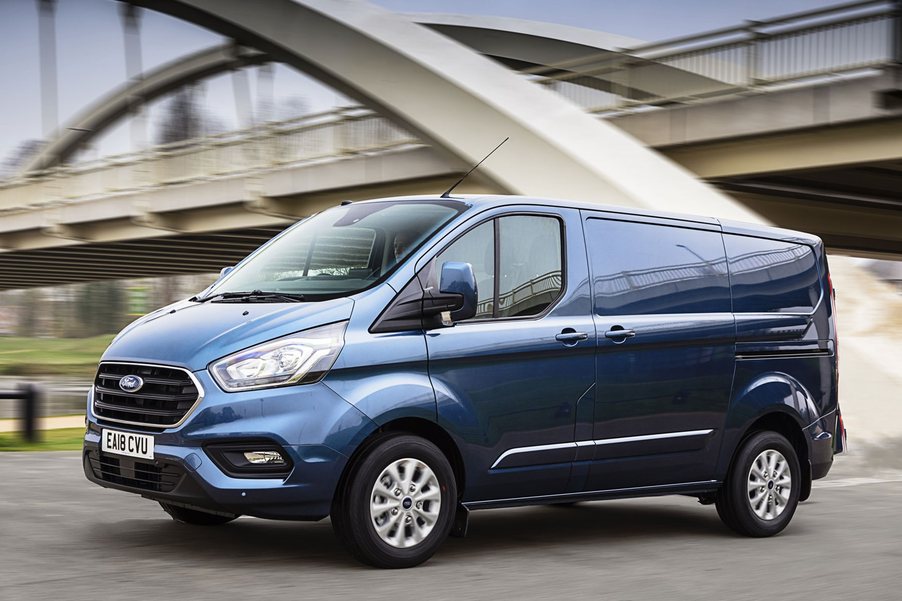 2a5d120cd5f61f Ford Transit Custom review - safety and security