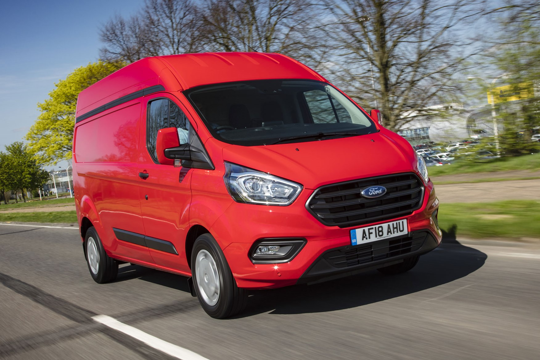 Ford Transit Custom review - 2018 post-facelift H2 driving