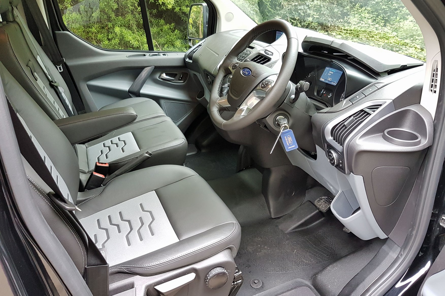 Ford Transit Custom Sport automatic cab interior