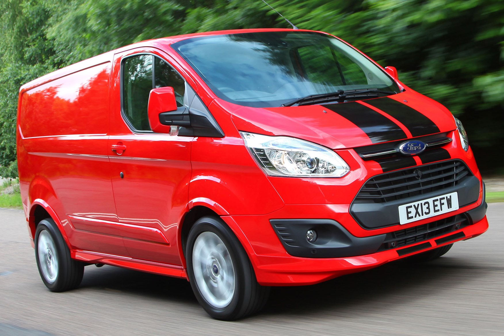 Ford Transit Custom Sport Euro 5 review