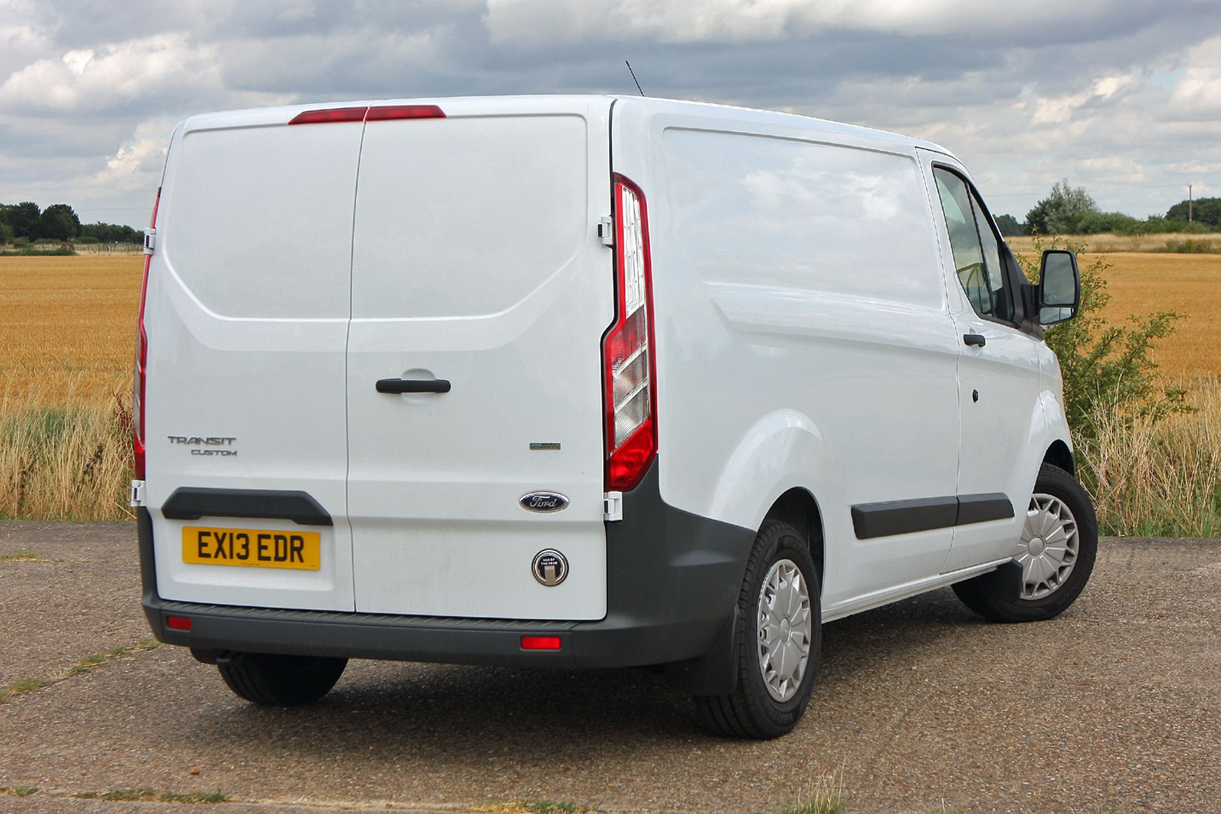 Ford Transit Custom Sport Euro 5 Econetic rear view
