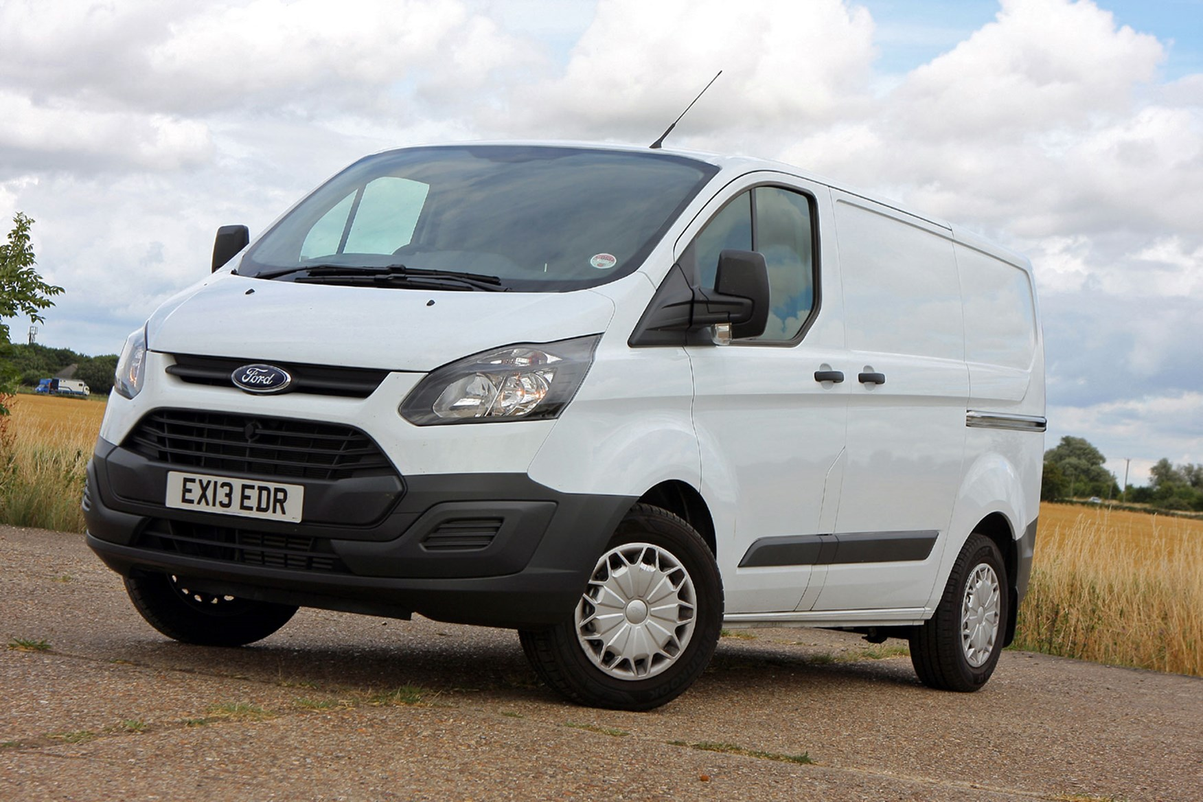 Ford Transit Custom Sport Euro 5 Econetic front view
