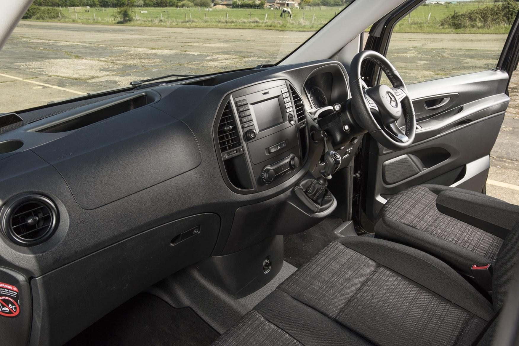 Mercedes Vito Premium review - cab interior