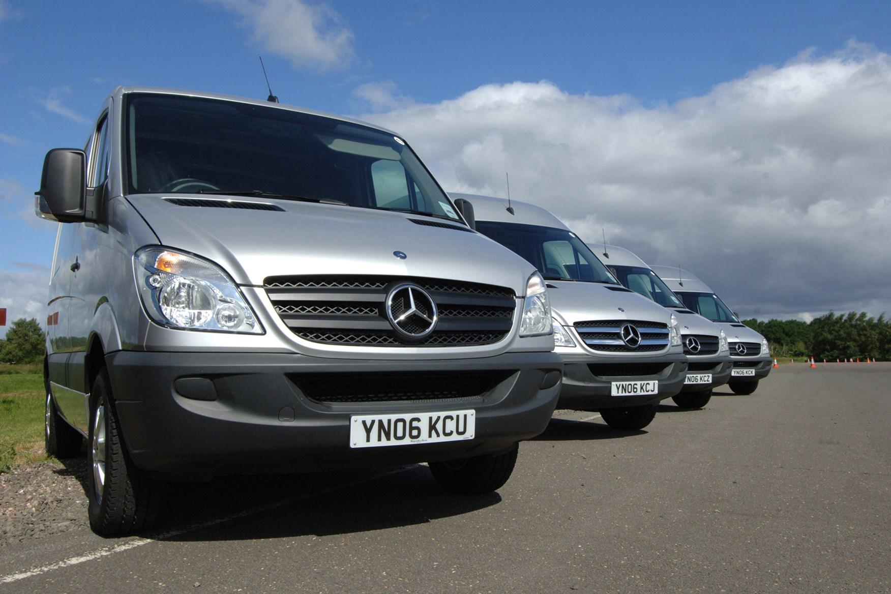 Mercedes-Benz Sprinter 2006-2013 review on Parkers Vans - front