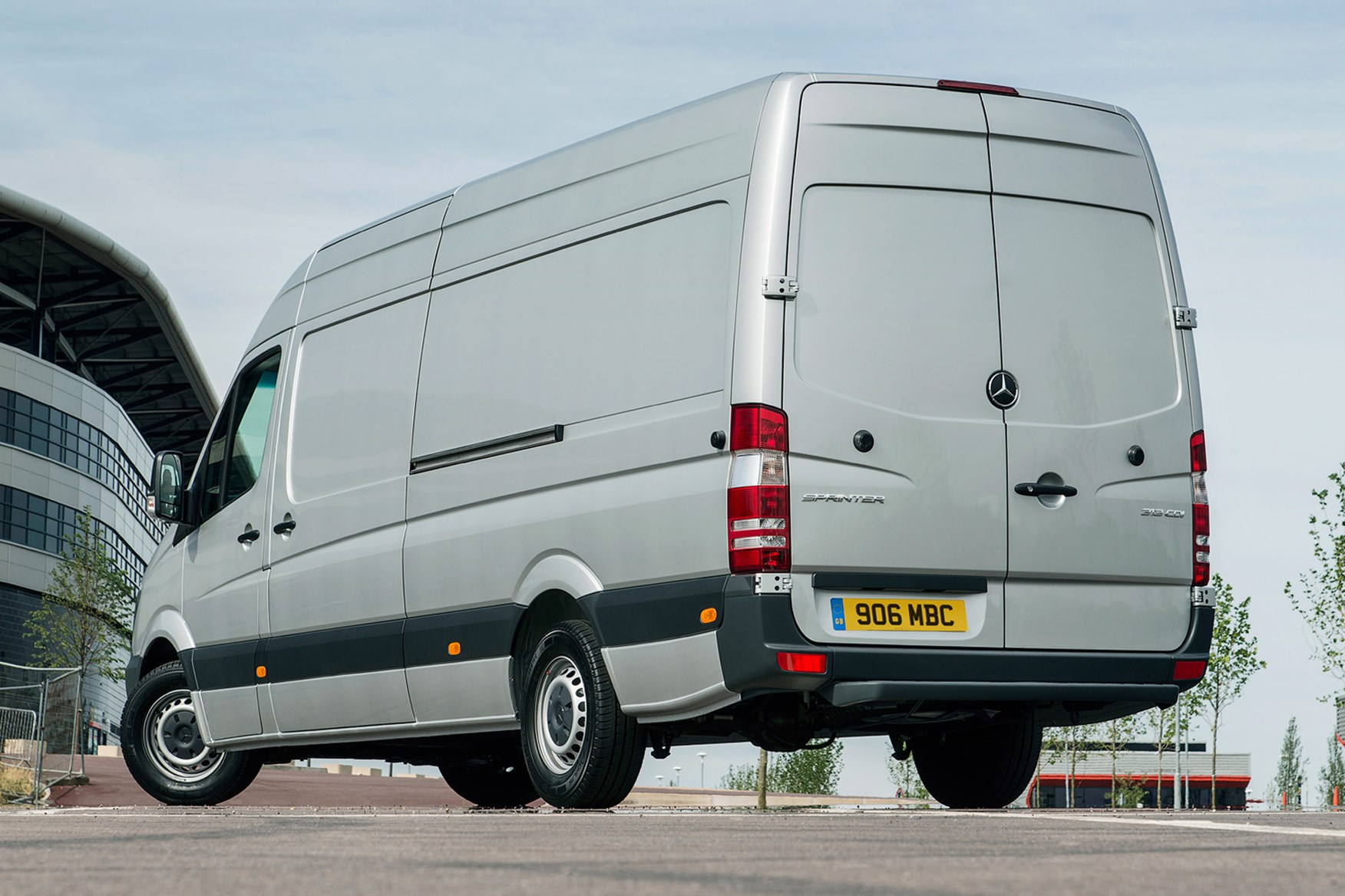 Mercedes-Benz Sprinter full review on Parkers Vans - rear exterior