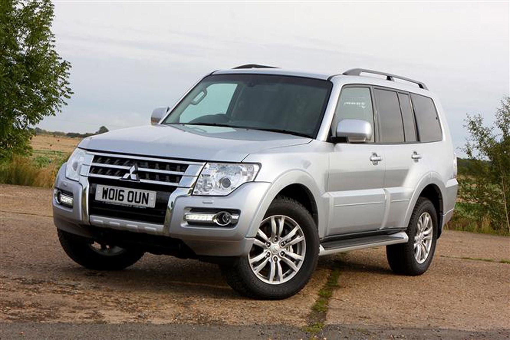 Mitsubishi Shogun review on Parkers Vans - exterior