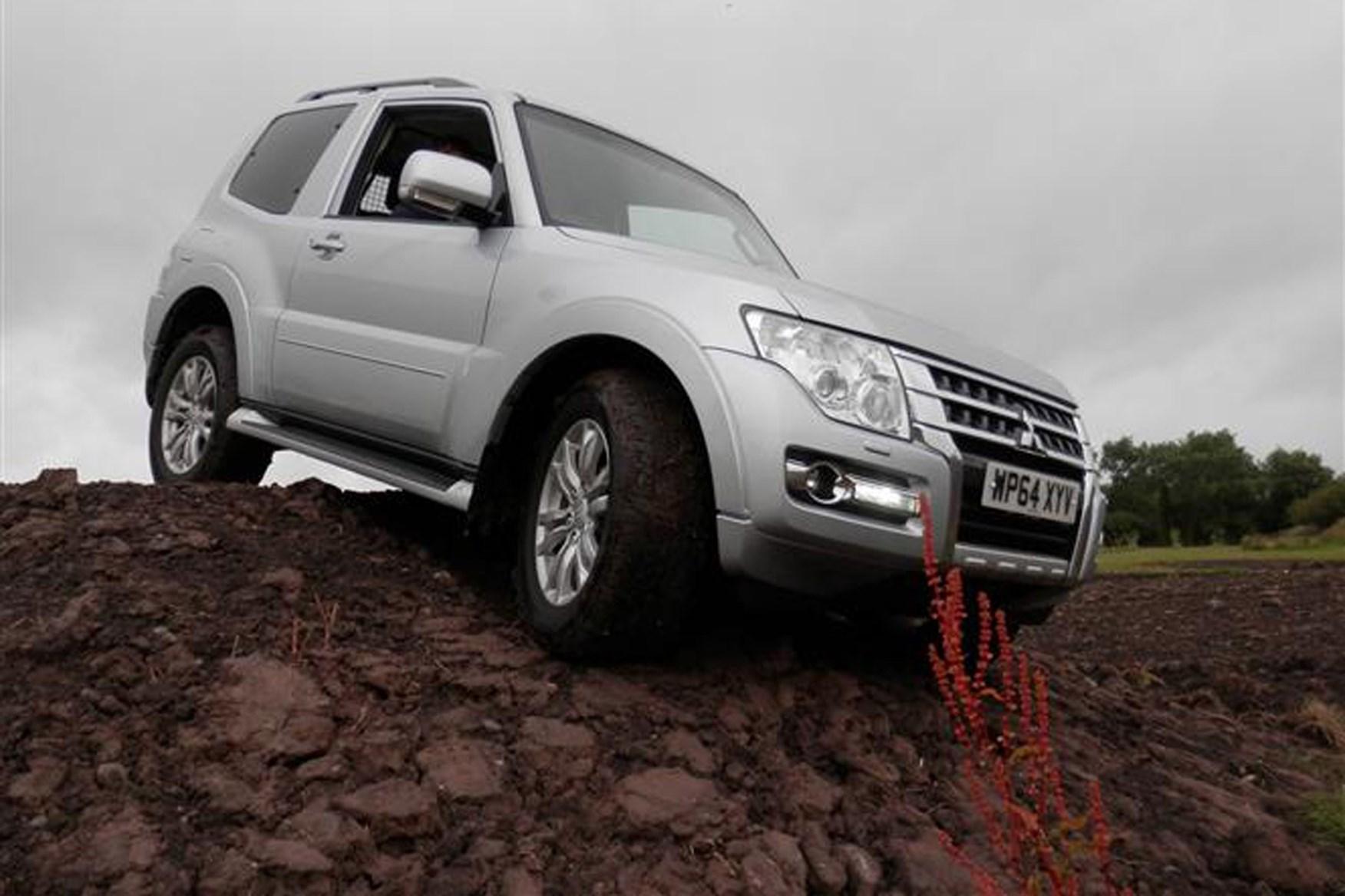 Mitsubishi Shogun review on Parkers Vans - off road capabilities