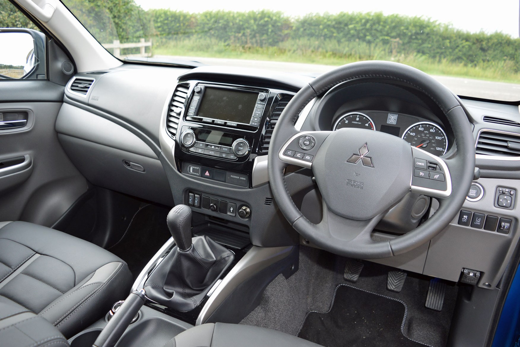Mitsubishi L200 review, cab interior quality