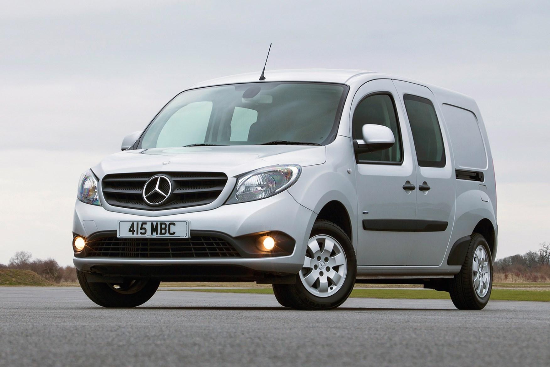 Mercedes-Benz Citan full review on Parkers Vans - front exterior