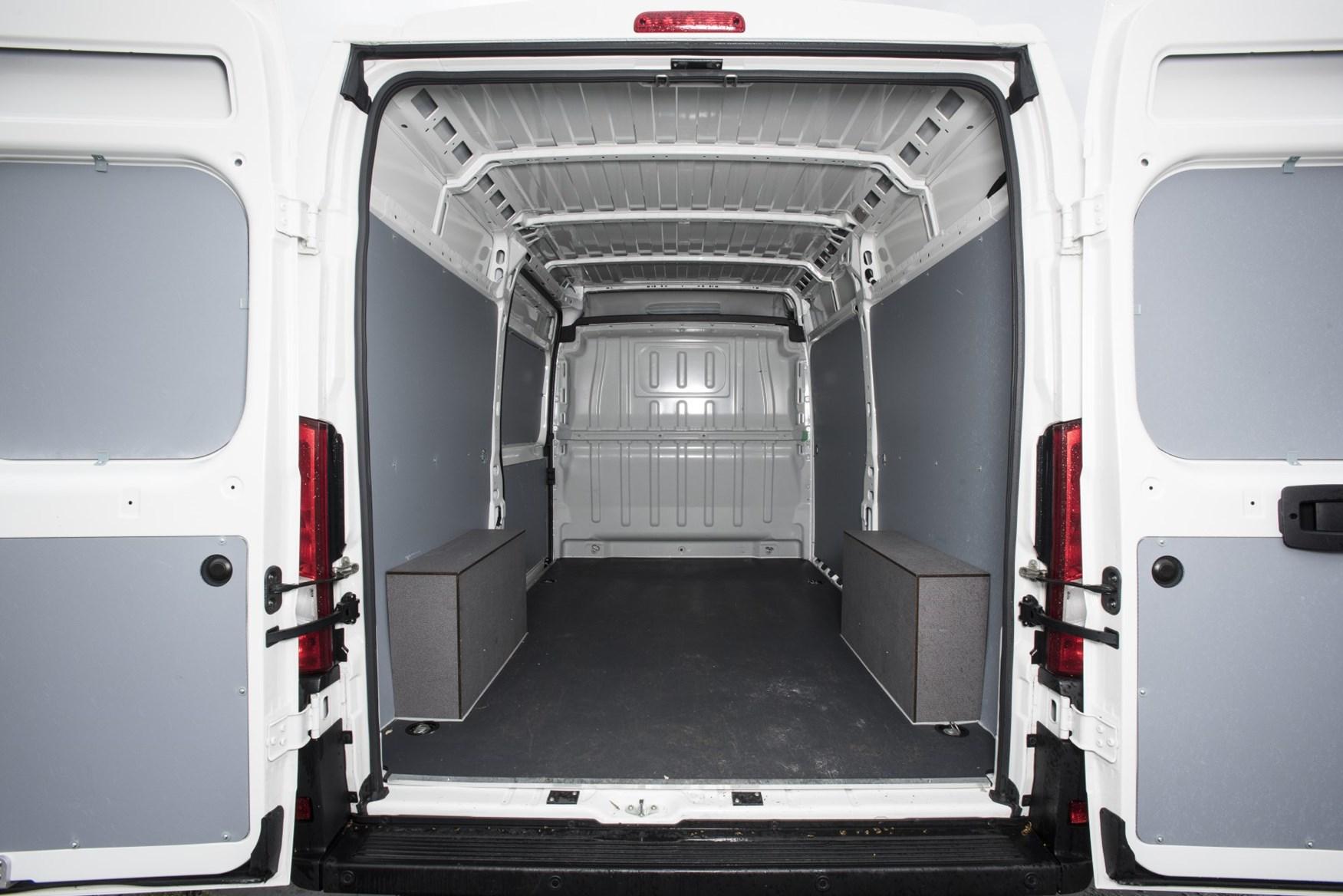 2019 Peugeot Boxer load area