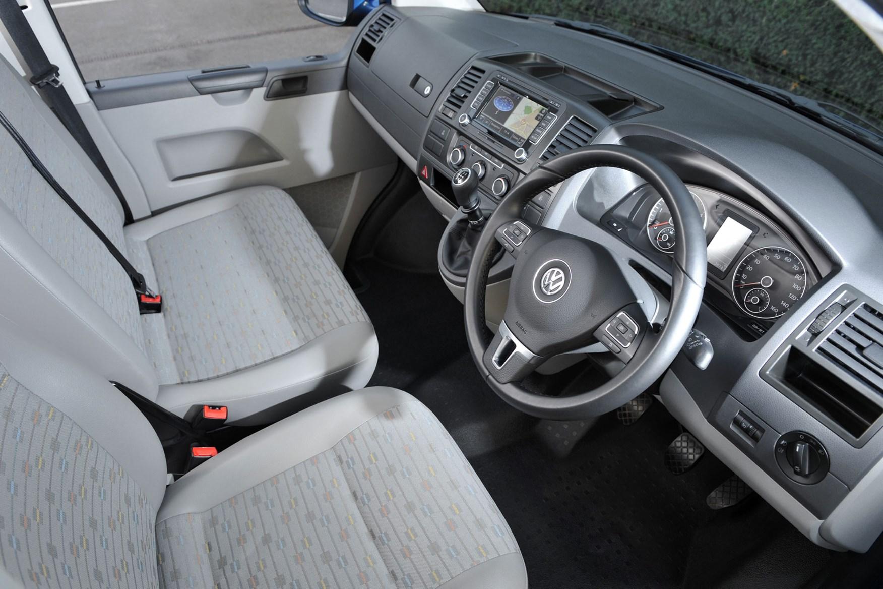 VW Transporter T5 (2010-2015) cab interior