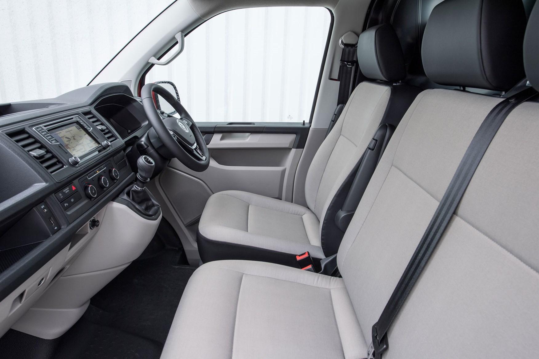 VW Transporter (2015-on) standard equipment