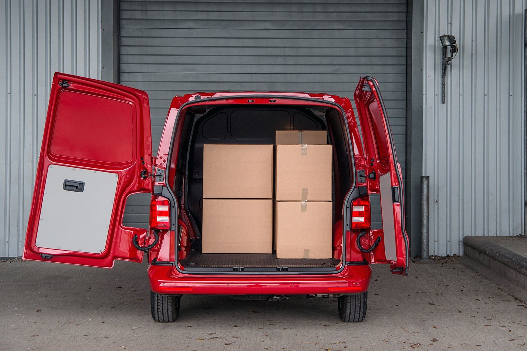 VW Transporter (2015-on) payload