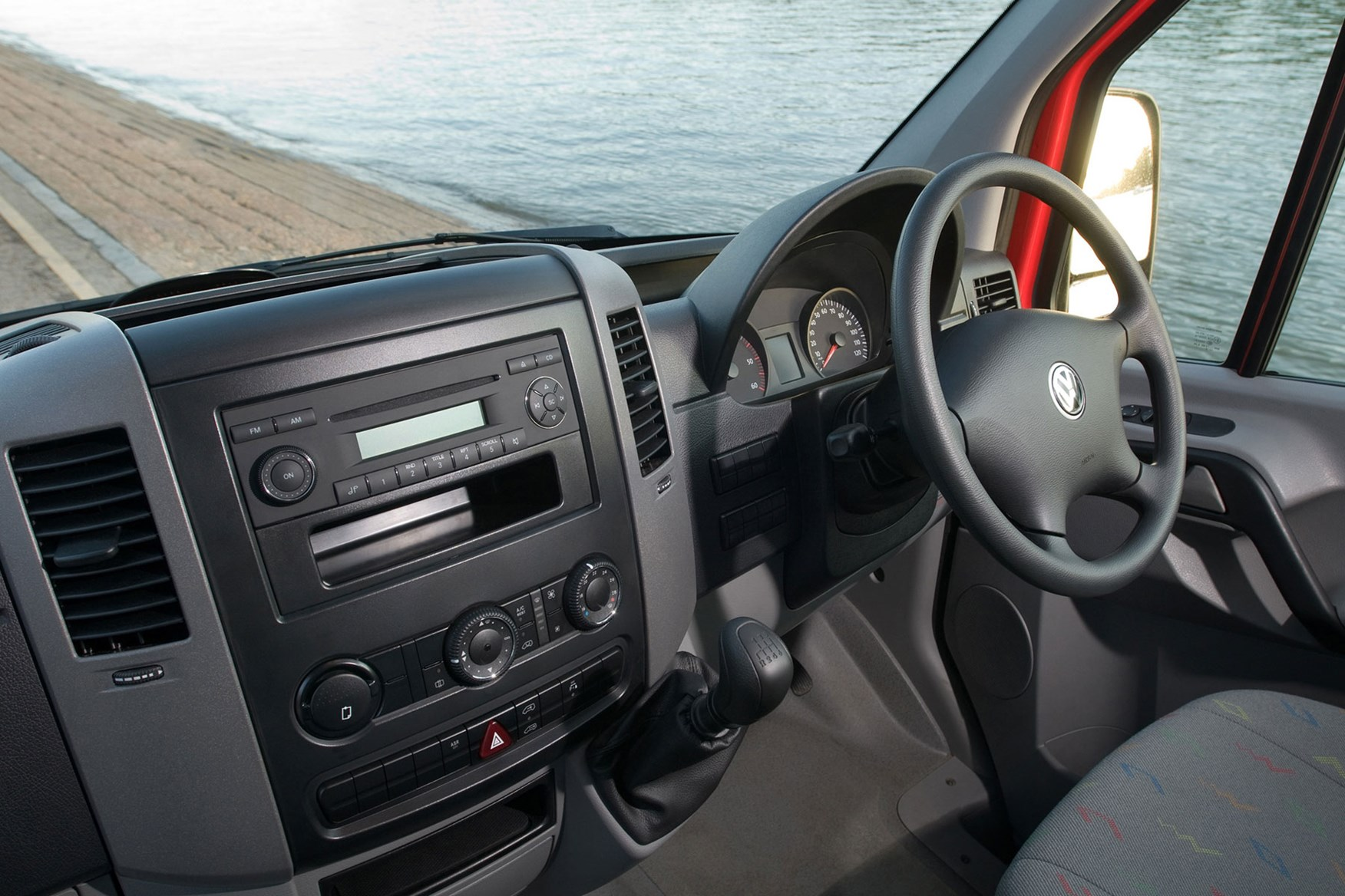 VW Crafter (1996-2003) cab interior