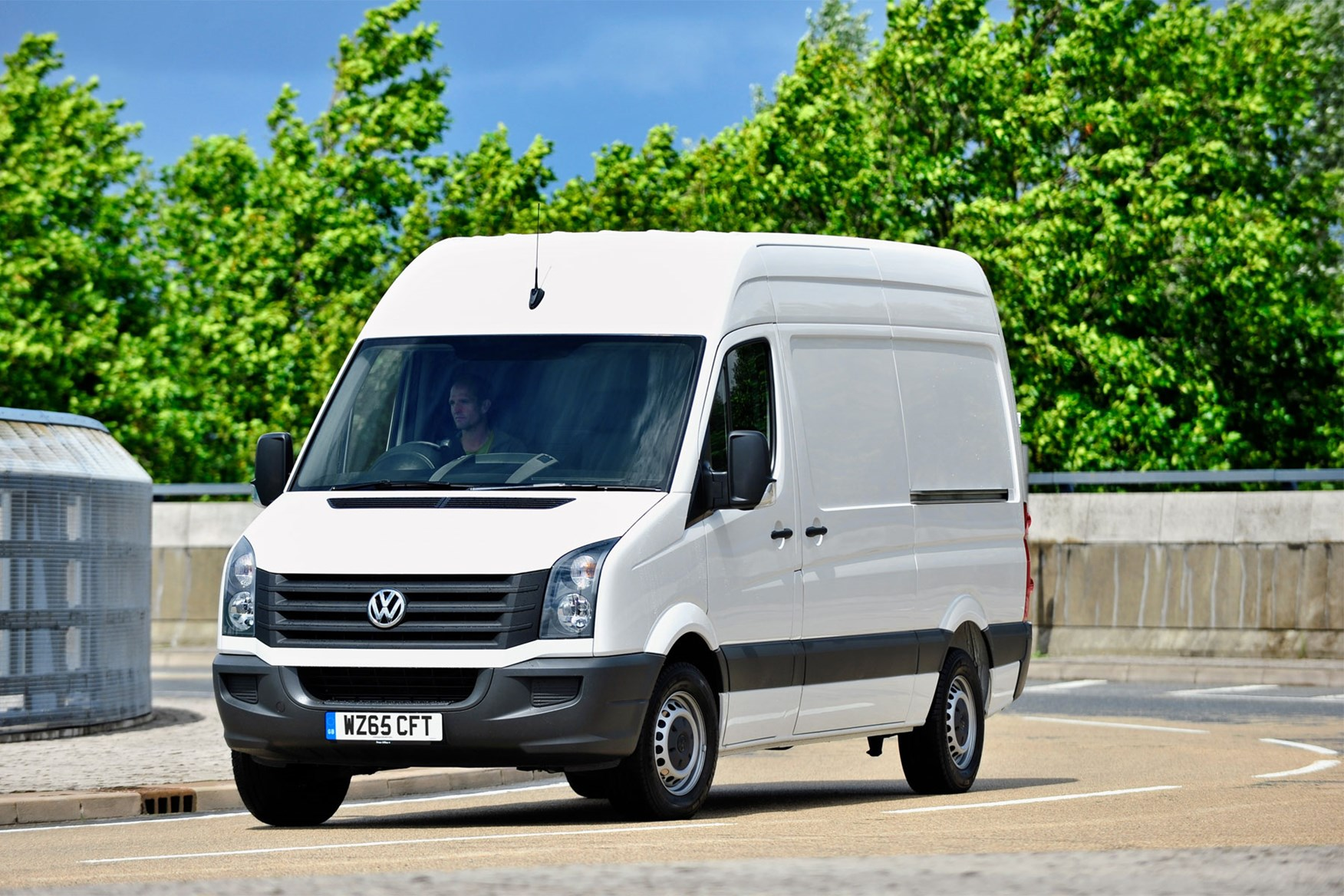 VW Crafter (2011-2016) driving experience