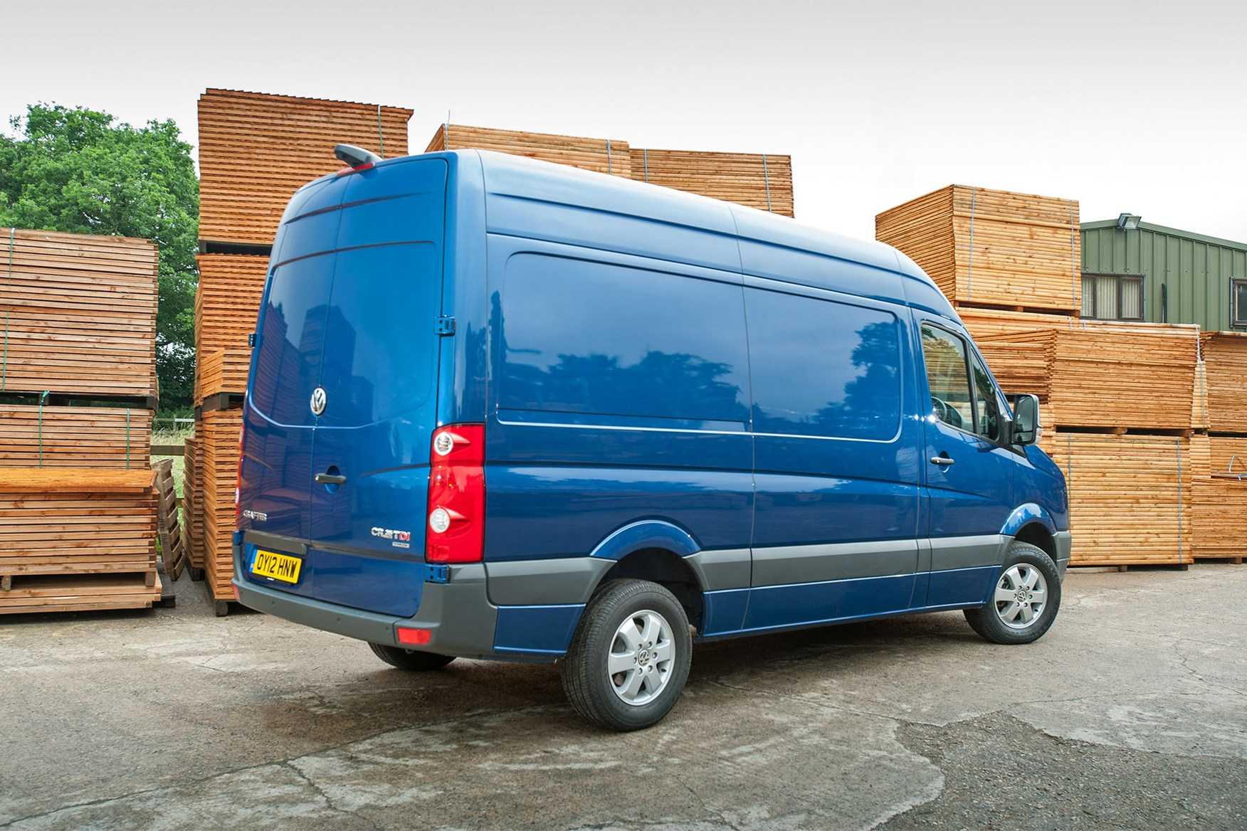 VW Crafter (2011-2016) rear view