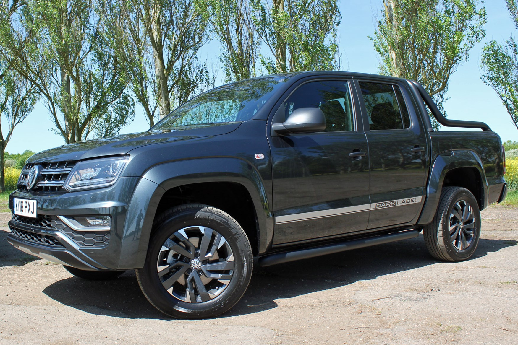 VW Amarok Dark Label review - V6 limited special edition pickup put to the test