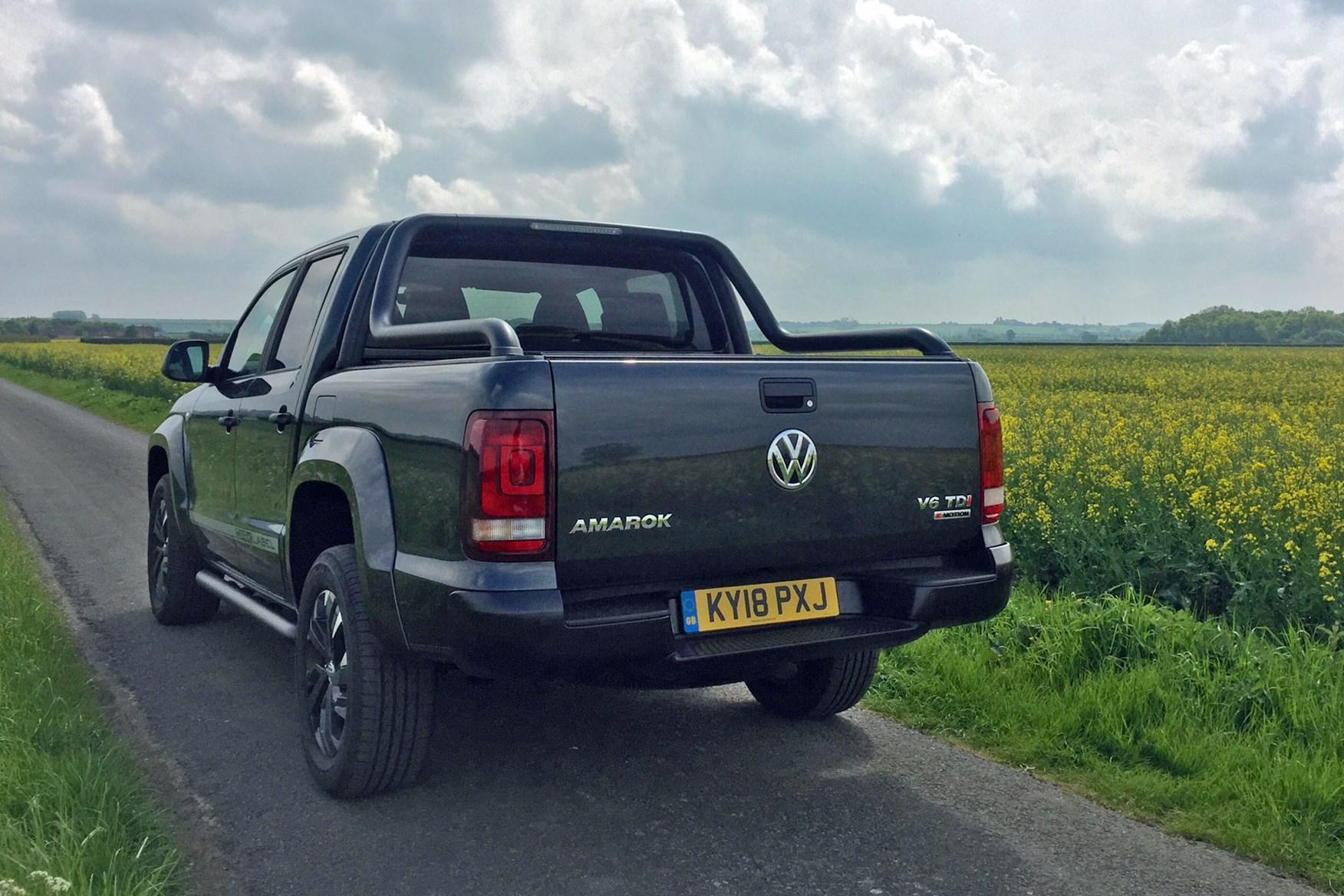 VW Amarok Dark Label review - rear view