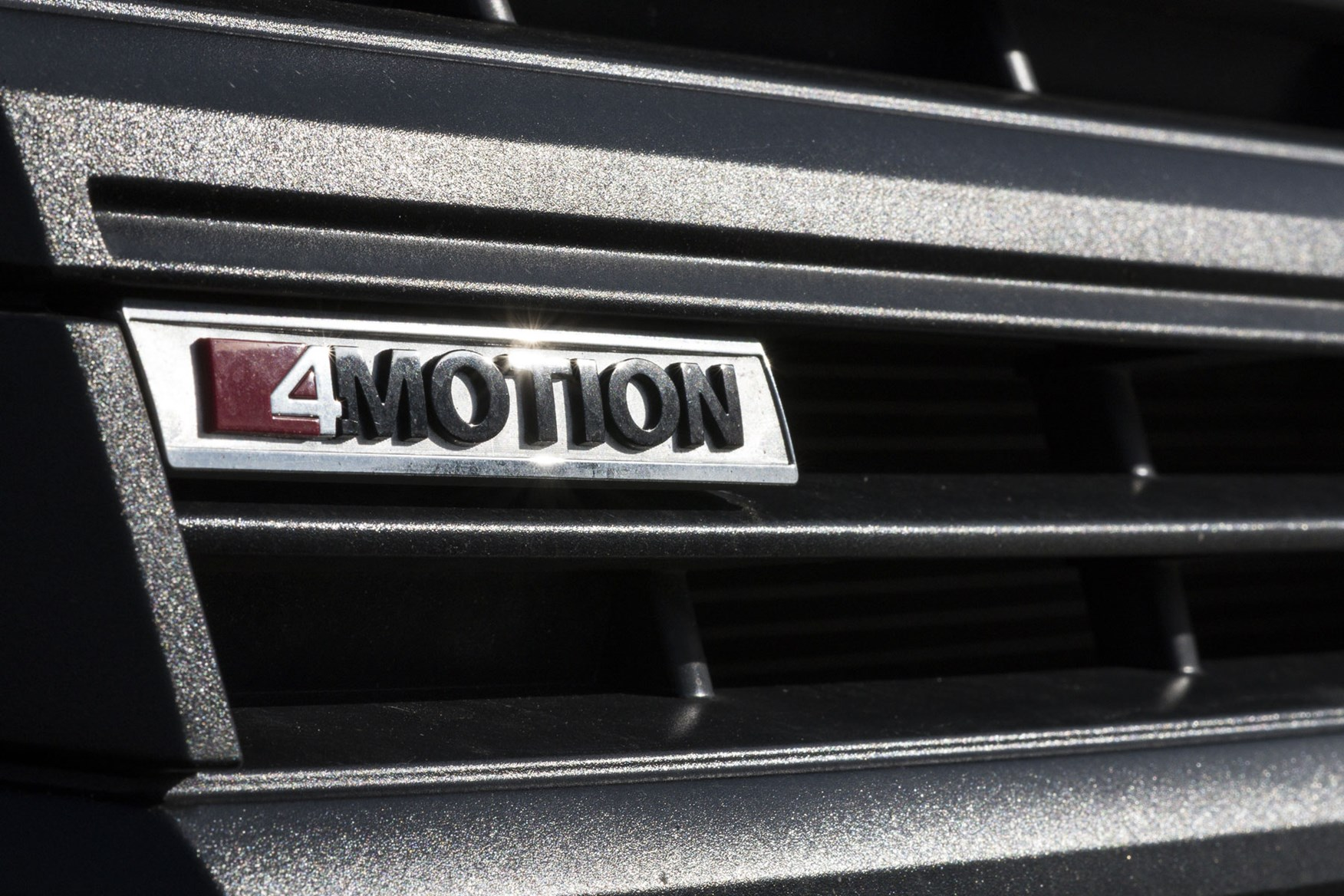 VW Crafter review - 4Motion four-wheel drive grille badge
