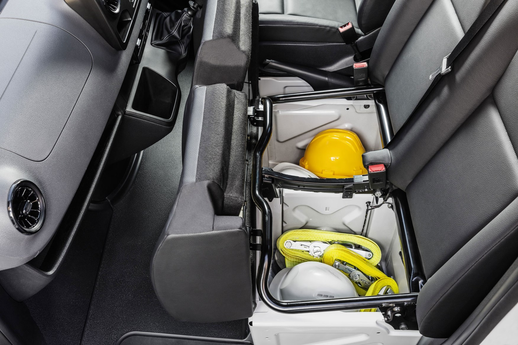 Mercedes Sprinter (2018-on) under seat storage