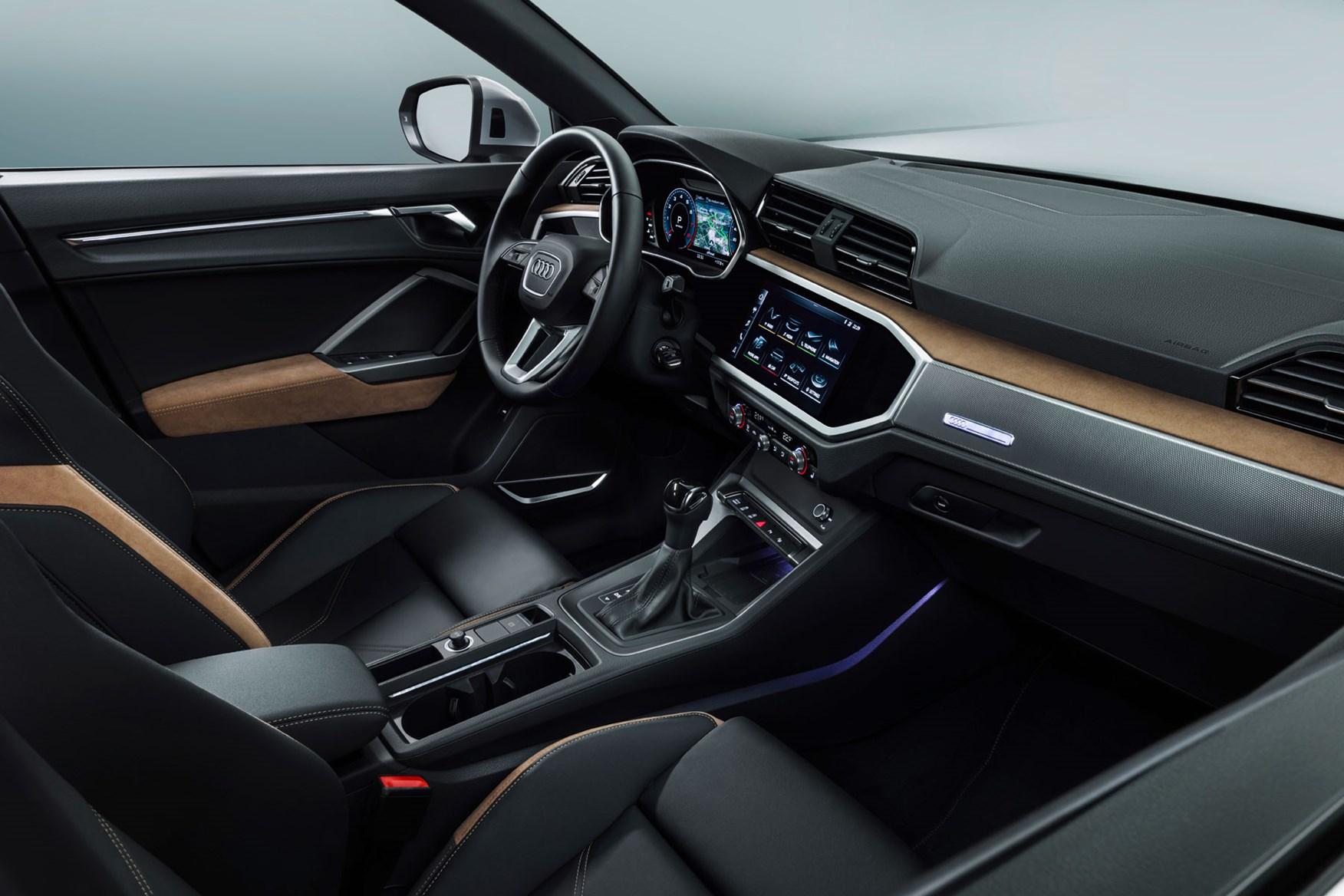 Audi Q3 (2018) interior cockpit cabin design
