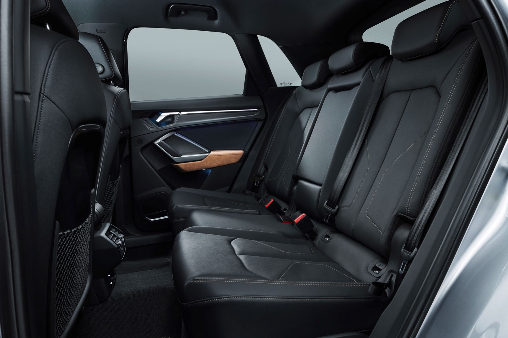 Audi Q3 has sliding rear seats for variable luggage and rear passenger space
