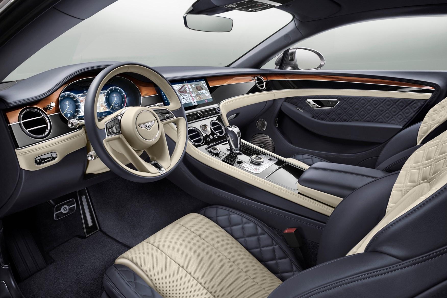 Bentley Continental GT cabin