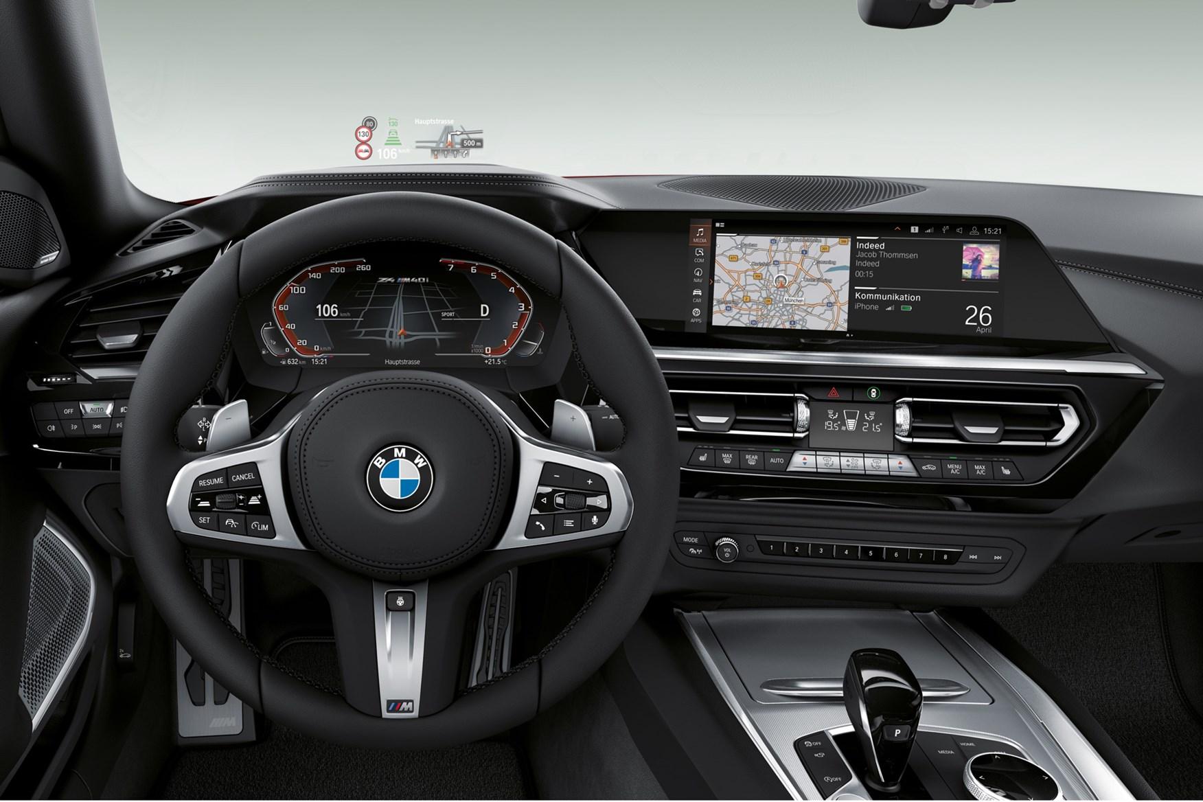 BMW Z4 (2019) M40i First Edition cabin